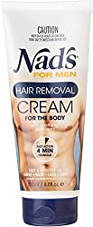 Nads for Men Hair Removal Cream for the Body, 6. 8 fl oz