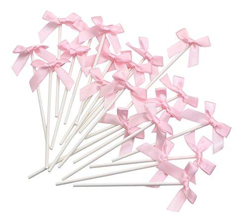 IU Desert Rose Hausbedarf Bowknot Flag Sticks Cupcake Dekoration Party Geburtstag liefert 20 Stück