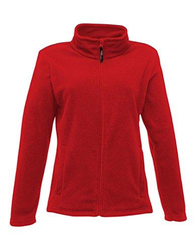 Regatta Damen Jacke Full Zip Micro-Fleece 40 Classic Red (Classic-serie-jacke)