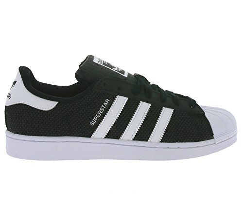 Adidas Superstar Mesh, Baskets Homme Noir / Blanc ...