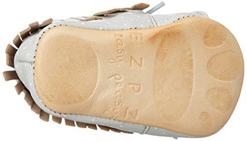 Easy Peasy - Meximoo Print, Scarpine e pantofole primi passi Unisex – Bimbi 0-24 Grau (inwi/plumetis blanc)