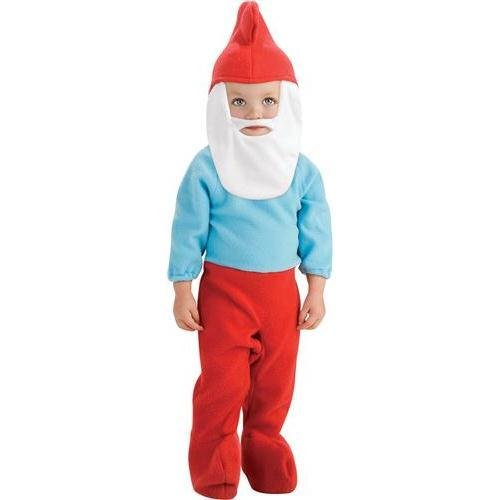 2 Kostüm Smurf - The Smurfs Movie Romper- Papa Smurf Baby Costume 0-6 Months