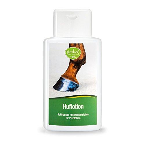 tierlieb Huflotion, Wellness und Pflege für Pferdehufe mit Lorbeeröl, Eukalyptusöl und Hamamelis-Extrakt, Inhalt 500 ml Pferdepflege Hufpflege