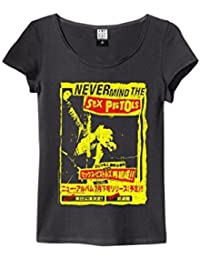 Amplified Never Mind The Sex Pistols Japenese Tour Charcoal Womens T Shirt