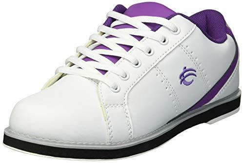 BSI Damen 460 Bowlingschuh, Damen, weiß/violett, Size 5