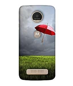 Fuson Designer Back Case Cover for Motorola Moto Z PLAY :: Motorola Moto Z Play (easier if we only fell in love with )