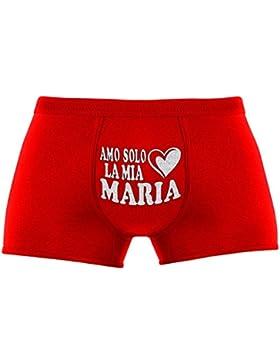 Regali originali per uomo | Amo solo la mia Maria | Compleanno |Natale | Regalo di Natale