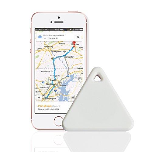 Zizon - Rastreador inteligente con localizador de GPS, alarma y Bluetooth para encontrar a su hijo o mascota   rosa rosa