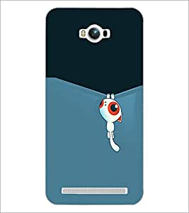 PrintDhaba Cartoon D-2312 Back Case Cover for ASUS ZENFONE MAX ZC550KL (2016) (Multi-Coloured)