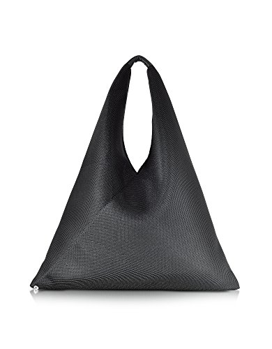 MM6 MAISON MARGIELA BORSA SHOPPING DONNA S54WD0009S23045900 TESSUTO NERO