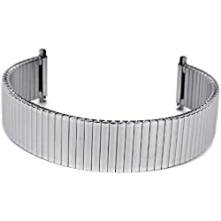 Eulit Flex Band Replacement Strap Stainless Steel Band 18mm-20mm 28-4110