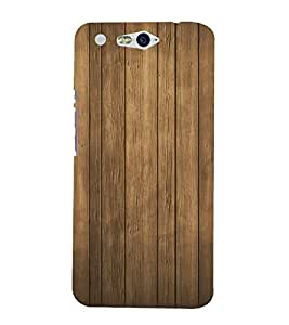 FUSON Wood Wall Background Wooden 3D Hard Polycarbonate Designer Back Case Cover for InFocus M812
