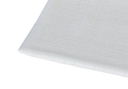 ByBoom - Mullwindeln 10+1 GRATIS - SPARPACK - Stoffwindeln - Spucktücher - Weiss - 80x70 cm, 100% Baumwolle - Kochfest bis 90°C; MADE IN EU, Farbe:Weiss