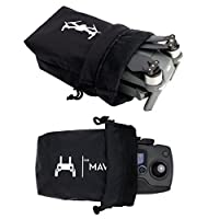 Anbee Mavic Pro Drone Body Storage Bag + Remote Carrying Cloth Pouch Waterproof Combo for DJI Mavic Pro Drone and Remote Controller