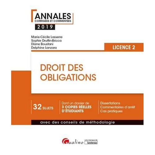 Droit des obligations : Licence 2