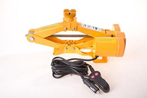 Elektrischer Scherenhebebühne Wagenheber 2T 12-35cm