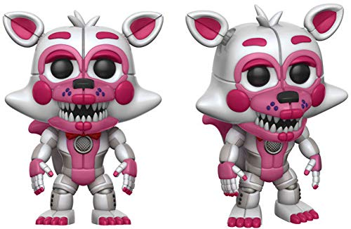 Funko 14062 Pop Vinyl Games Fnaf Sister Location Funtime Foxy Figure