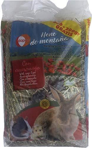 dapac 1 kg - Foin De Montagne Avec Cynorrhodon pour rongeurs