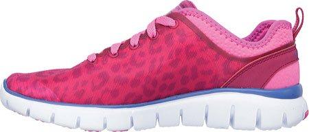 Skechers Flex Power Player, Multisport Outdoor Femme pink