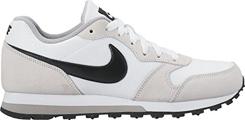 Nike Wmns Md Runner 2, Zapatillas para Mujer, Blanco (White/Black-Wolf