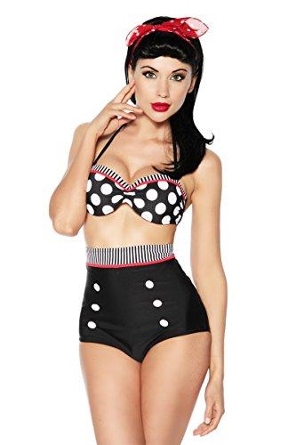 Boolavard Costume Intero Elegante Coordinati Push up Bikini Bohemian Costumi da Bagno (L 42-44, Stile 5)