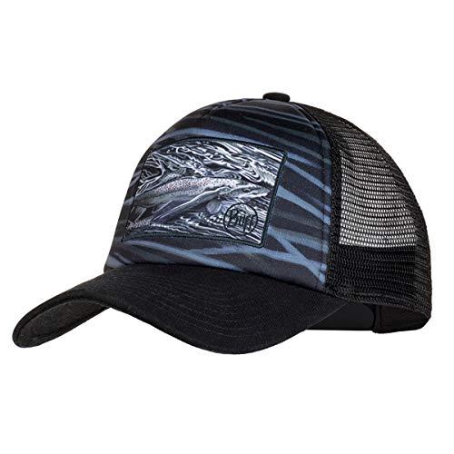 Buff Erwachsene Trucker Cap, Chrome Graphite, One Size -