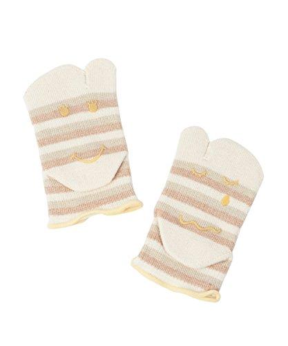 Knitido Baby Tabi, Zwei-Zehen-Socken für Kleinkinder, aus Bio-Baumwolle, Größe:22-25, Farbe:beige-grün - Bio-baumwolle Zehe Socken