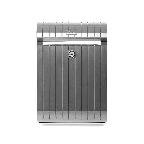 0044009 - Briefkasten, grau-metallisiert