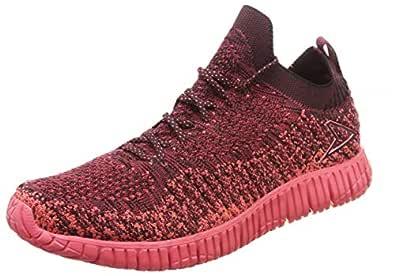 Power Women's Natural Engage Burgandy Running Shoes-6 UK (39 EU) (5085099)