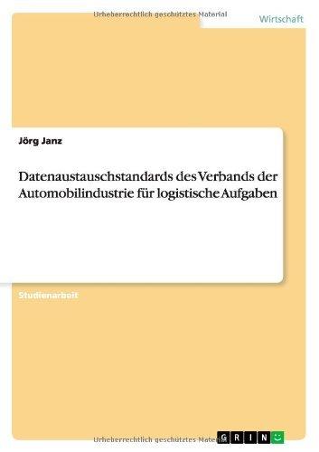 Datenaustauschstandards des Verbands der Automobilindustrie für logistische Aufgaben