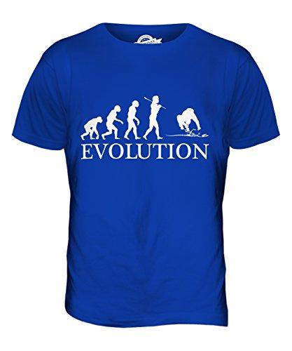 CandyMix Archäologie Evolution Des Menschen Herren T Shirt Königsblau