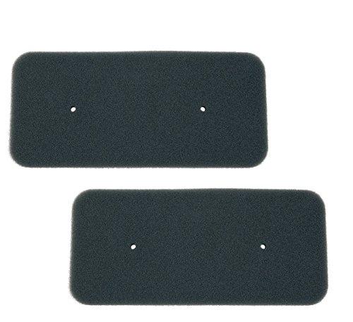 2x Filtre Filtre à poussière filtre éponge Candy Hoover 40006731pour sèche-linge à Sèche-linge Mousse