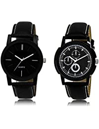 ACNOS Most Desirable Attractive Latest Analog Watches Combo For Handsome-Good Looking Men Pack Of - 2 LR05LR13