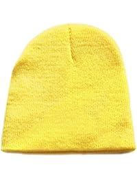 73d88be13b94 Samgu Bébé Bonnets Filles de garçon Chapeau Mou Enfants d hiver Chauds  Enfants tricotés Crochet