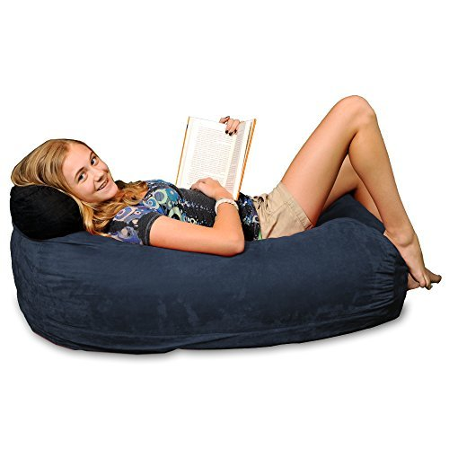 Chill Bag - Bean Bags Kid Beanbag Lounger, Navy by Chill Bag - Bean Bags - Navy Bean Bag