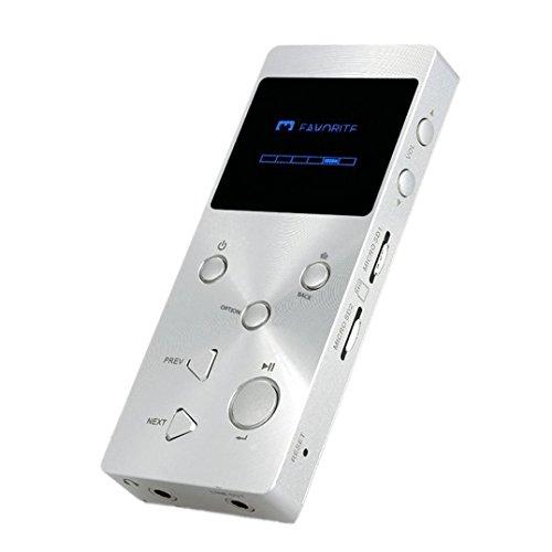 Lettore MP3, c' est XDUOO HIFI Lettore musicale MP3Lossless Audio di Musica Player with1.3pollici HD schermo OLED