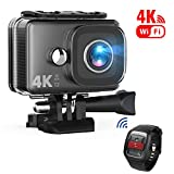 TEC.BEAN Action Camera 14MP Wi-Fi 4K Ultra-HD, Telecamera Sport Impermeabile...