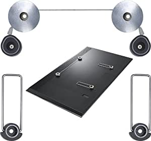 """Duronic TVB1103M Ultra Slim Led TV Mount - 23""""-42"""" subject to VESA 400 X 400 - 23"""" 32"""" 40"""" 42"""" - Suitable for Samsung and other LED TV's"""