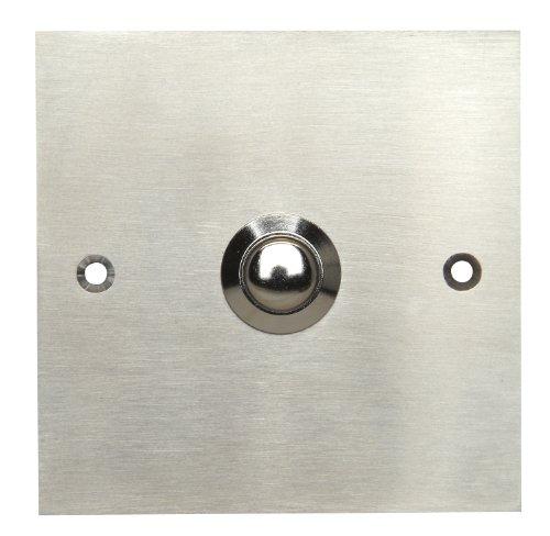 Kopp 204720029 Square Door Bell in Steel