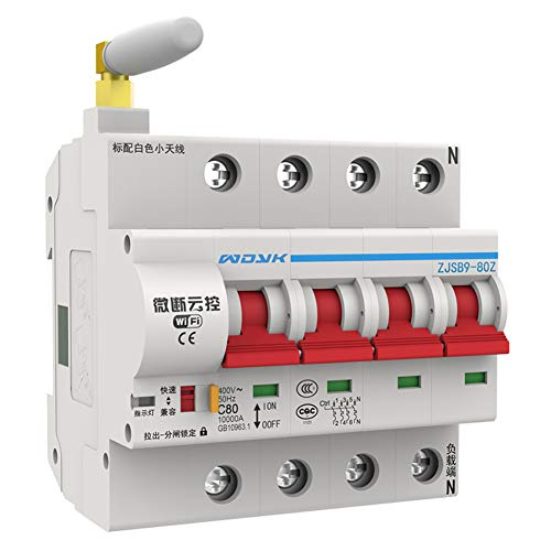Ohwens WiFi Smart Circuit Breaker App Remote Control Automatic Switch Overload Circuit Protection