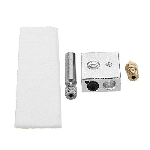 Ils - CTC MK8 Boquilla extrusora DE 0.4 mm + PTFE