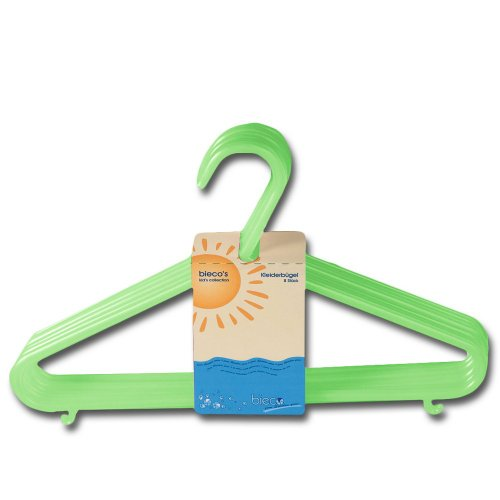 Preisvergleich Produktbild Bieco 04-014146 - Kleiderbügel grün
