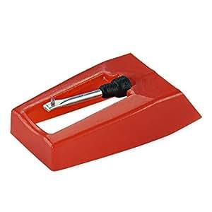 AMOS Puntina di Ricambio di Zaffiro per USB Giradischi & Sistema Hi-Fi per 33 45 e 78 giri/min Dischi Vinile LP Audio Lettore Nuovo Stilo Ago Pezzo di Sostituzione