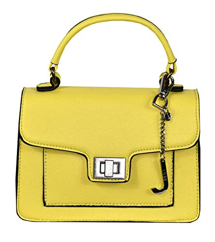 1stAmerican - Bolso de Asas para Mujer, Amarillo (Amarillo) - 1