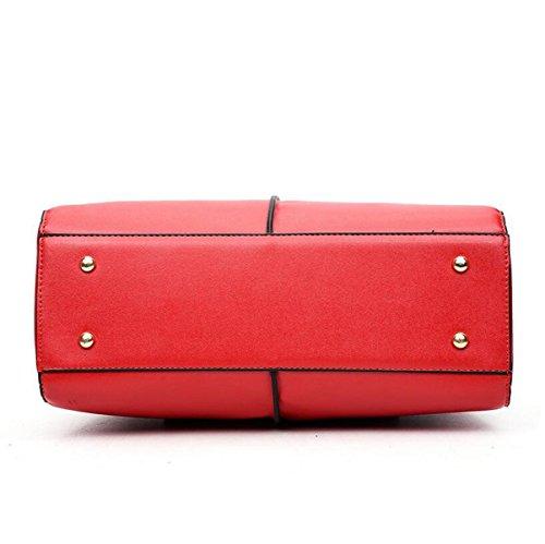 Frühlingsart Und Weisefrauen-Schulterbeutel-Diagonalpaket-Handtasche Einfaches Wildes Red
