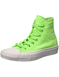 Converse Chuck Taylor All Star Ii Low, Gymnastique mixte adulte - vert - vert, 36
