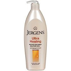 Jergens Ultra Healing Extra Dey Skin Moisturizer WIth Vitamins C, E & B5 400 mL