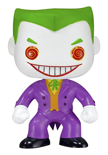 Funko 2211 Heroes S1 No POP Vinylfigur: DC: The Joker, Multi