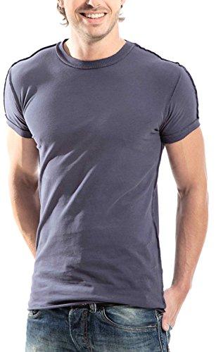 luckja-maglietta-vintage-da-uomo-m-blu