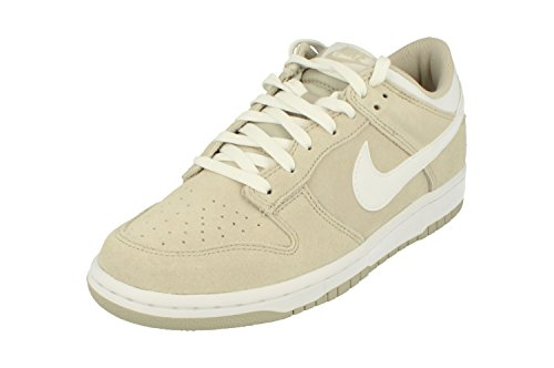 NIKE Dunk Low Mens Trainers 904234 Sneakers Shoes (UK 9 US 10 EU 45, Pale Grey White 002) (Nike Dunks Grau)